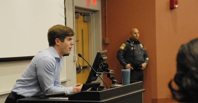 Conservative speaker arrested at UConn blames students