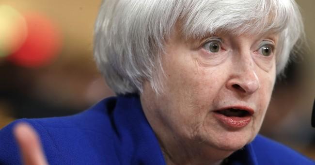 The Latest: Yellen enjoys warm reception as tenure nears end