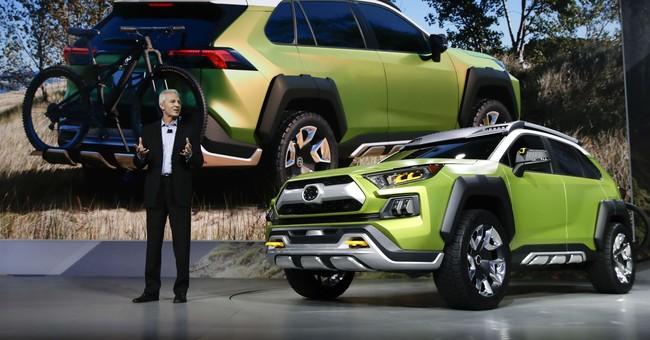 Electrics and SUVs are main attraction at LA Auto Show