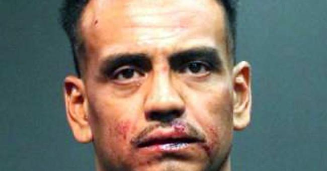 Stolen Ferrari trashed; man arrested after seeking gas money