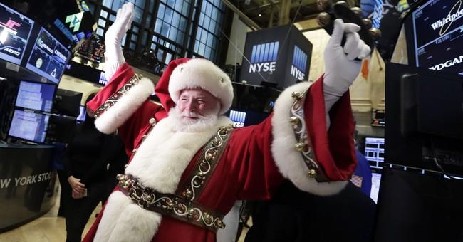 "Investors eye 'Santa Claus rally;"" tax overhaul is wild card"