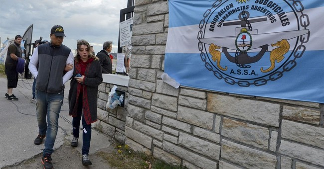 Argentina no longer looking for survivors from missing sub