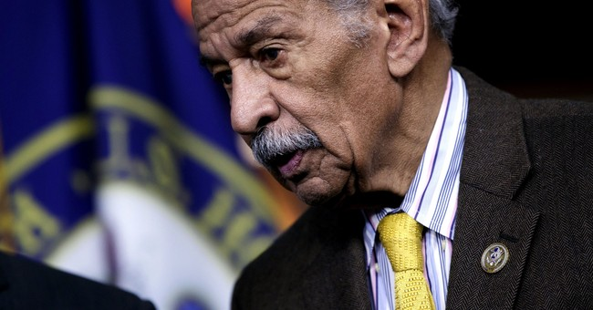The Latest: Lawyer: Conyers' accuser to go before Congress