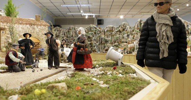 French town hopes to break record with huge Christmas creche