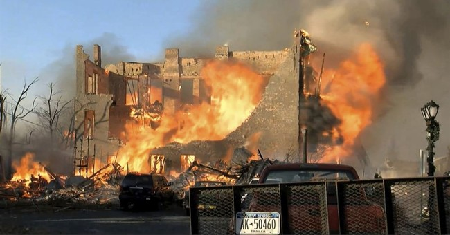 Mayor: New York inferno sparked by amateur bladesmith