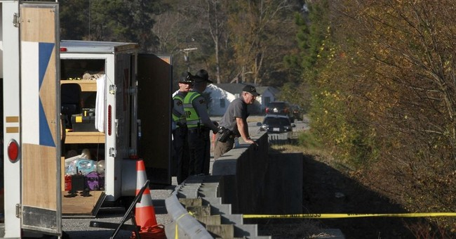 The Latest: Missing girl's body found in N Carolina creek