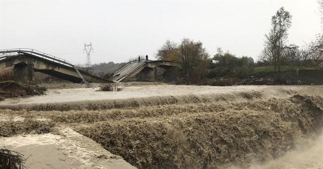 Albanians evacuated after riverbanks overflow, flood areas