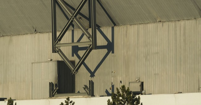 Blasts fails to bring down upper section of Silverdome