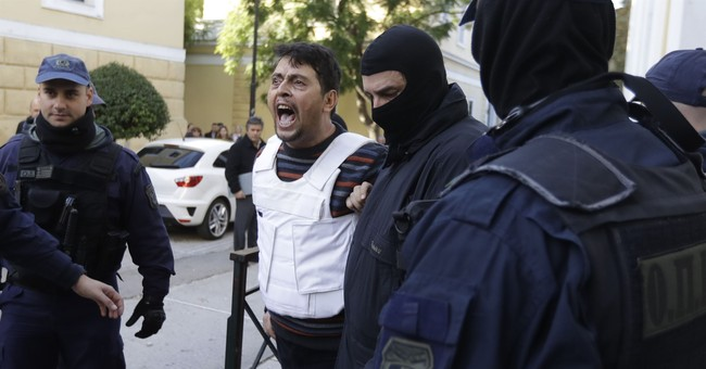 9 suspected left-wing militants from Turkey appear in court