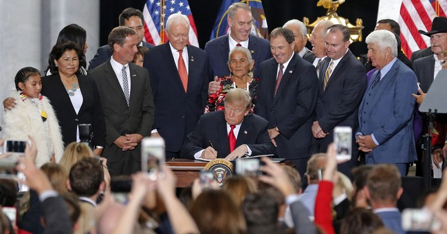Trump takes rare step to reduce 2 national monuments in Utah