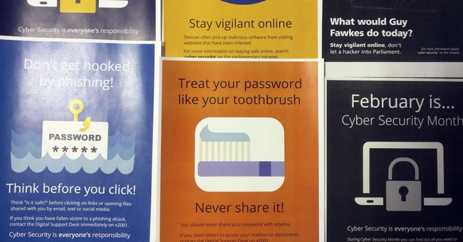 Documents: UK lawmakers flout explicit password-sharing ban