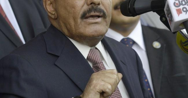 The Latest: Yemen's president says unite against rebels