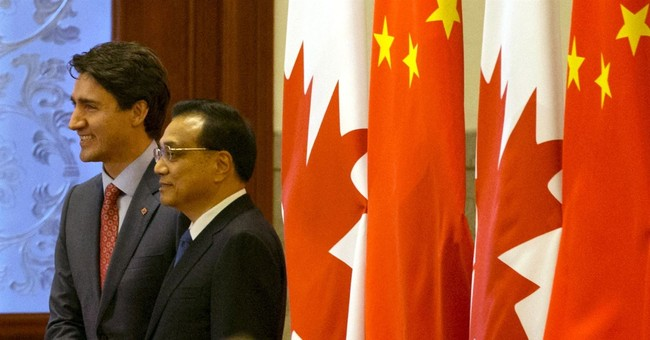 Trudeau: China trade pact should reflect 'Canadian values'