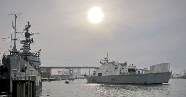 USS Little Rock arrives in NY in advance of commissioning