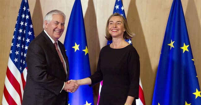 EU calls on US to stick to Iran nuclear deal