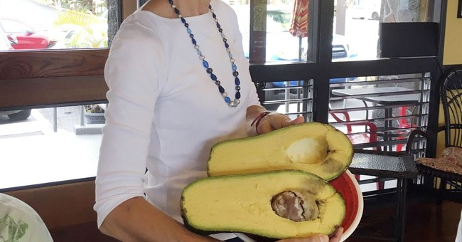 'Big as my head': Hawaii woman seeks record for huge avocado