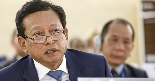 The Latest: Myanmar envoy rebuts UN rights chief on Rohingya