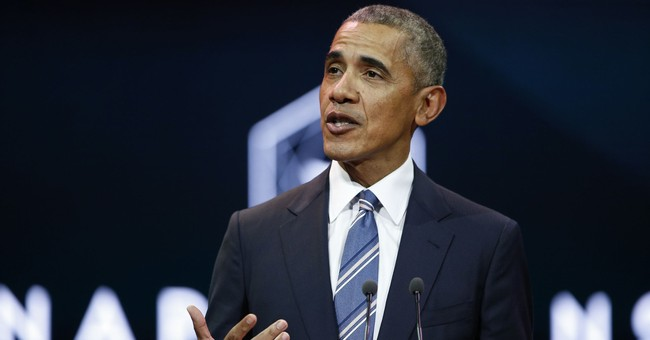 The Latest: Obama: Cities, states new climate change leaders