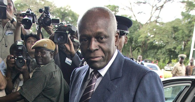 Angola's president says he won't run in this year's election