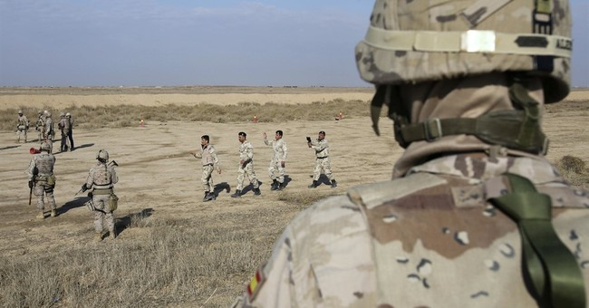 US-led coalition trains Mosul police, plans for IS-free Iraq