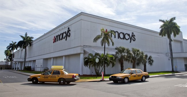 Macy's shares up after being halted amid takeover rumor