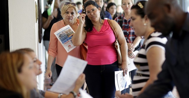 Trump inherits a healthy job market, with solid hiring