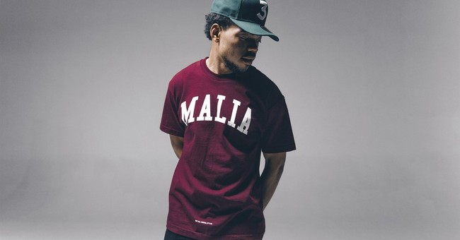 Chance the Rapper models 'Thank You Obama' clothing line