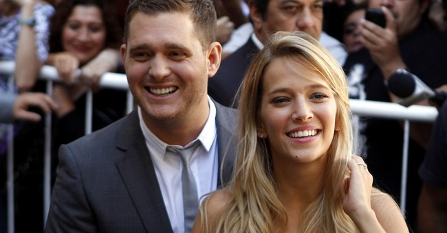 Michael Buble: Son 'progressing well' in cancer battle