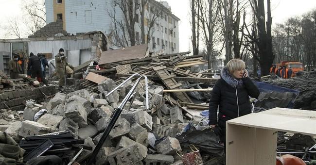 Worst fighting in east Ukraine since 2015; 33 dead this week
