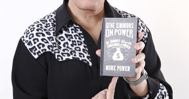 With a small book, Gene Simmons is ready to make you rich