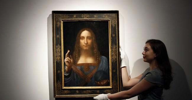 The Latest: Saudis: $450 million artwork bought for museum