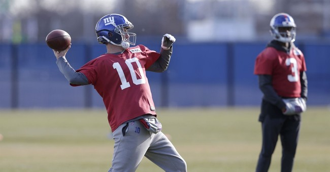 Eli Manning back as New York Giants starting quarterback