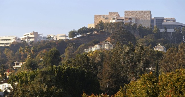 LA's Getty Center built to protect its treasures from flames