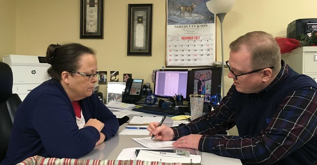 Gay man denied marriage license hopes to unseat county clerk