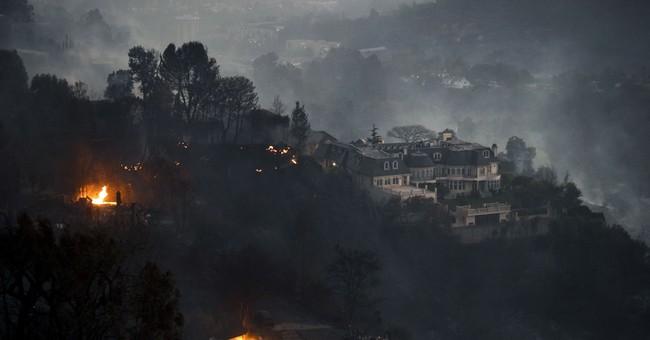 Frantic horses run loose as Lilac Fire threatens Bonsall barn
