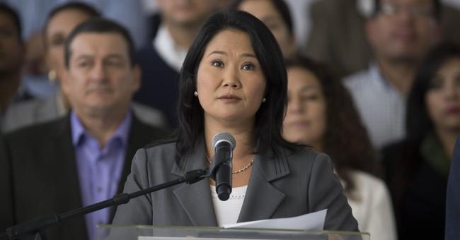 Peru prosecutors raid offices of Keiko Fujimori's party