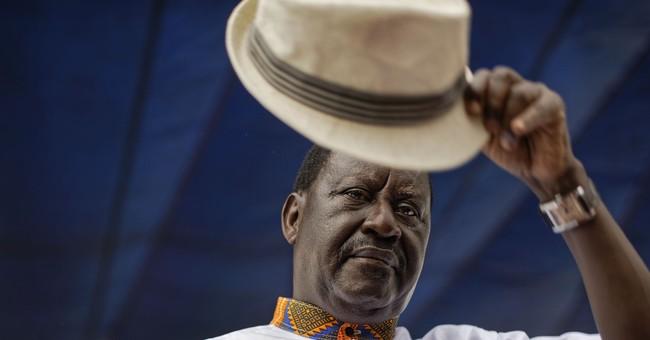 Kenya says 'swearing-in' of Odinga would be seen as treason