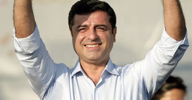 Jailed pro-Kurdish party leader's trial opens in Turkey