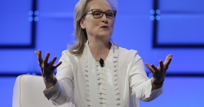 Streep calls out Harvey Weinstein at women's conference