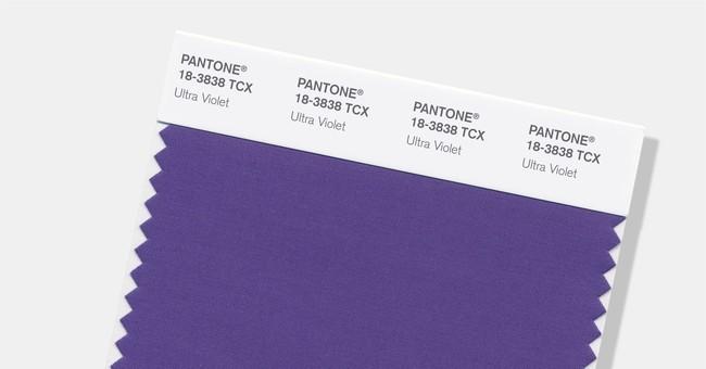 Pantone picks deep purple 'Ultra Violet' as color of year