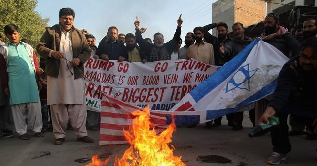 The Latest: Somalia calls Trump Jerusalem move 'dangerous'