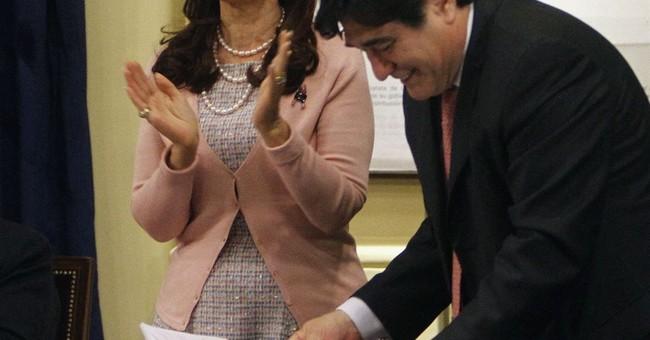 Argentine judge seeks arrest of ex-President Fernandez