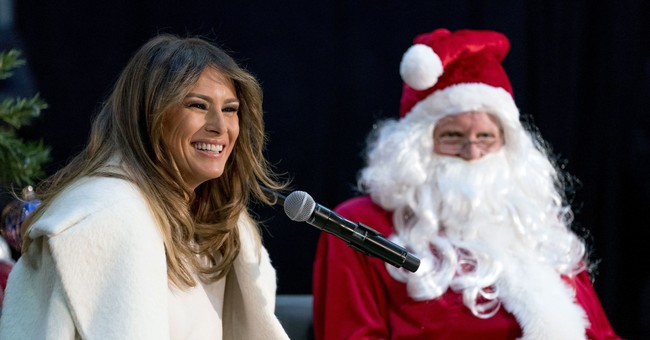First lady wishes to spend holiday on deserted island
