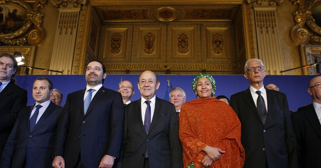 Lebanon PM seeks international support at Paris summit