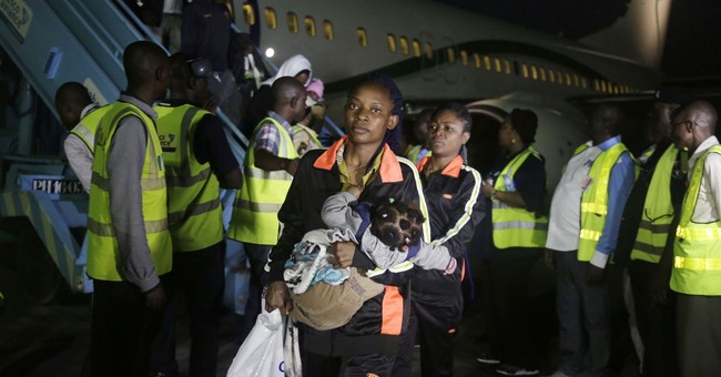 Hundreds of West African migrants return home from Libya