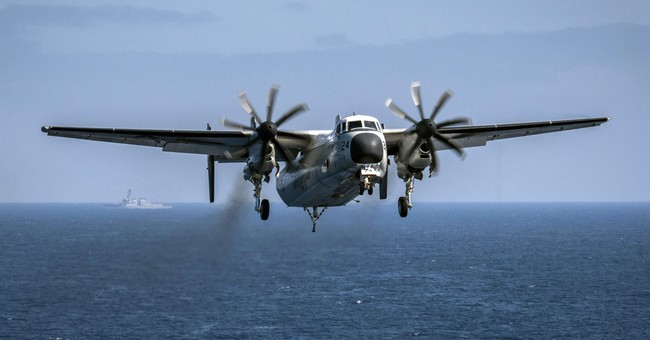 US Navy prepares to comb sea bed for crashed plane, sailors