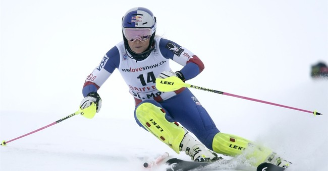 Vonn happy to mix sport and politics ahead of Olympics