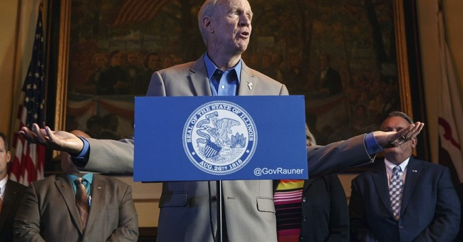 'I'm not in charge': Illinois governor's words may haunt bid