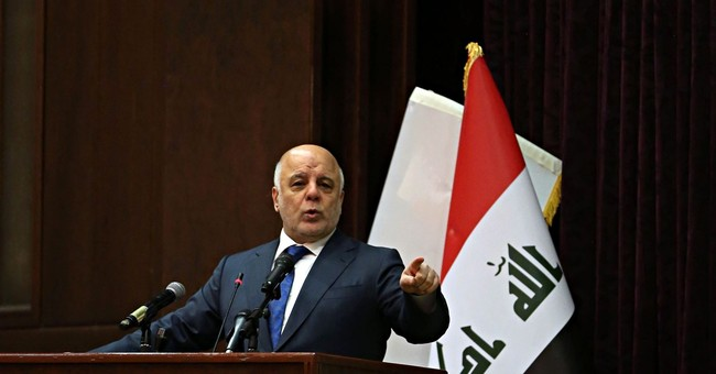 PM announces on state TV Iraq's war against IS has ended