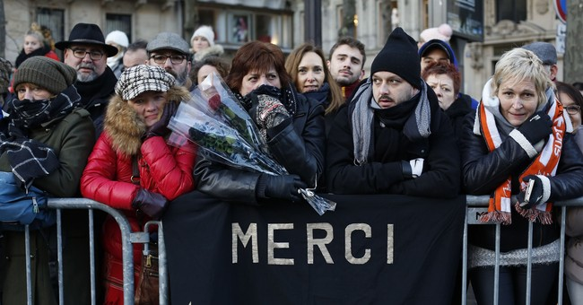 Tears, pomp, extravagance as France mourns rocker Hallyday
